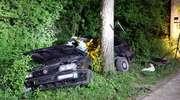 Śmiertelny wypadek z udziałem nastolatków. 19-latek zginął na miejscu, 18-latek przewieziony został do szpitala