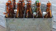 Ślady historii. Skrzynka na butelki z browaru w Biskupcu