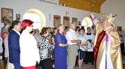 Poświęcenie kościoła na osiedlu Lesk w Olecku