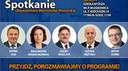 Parlamentarzyści Platformy Obywatelskiej RP ruszają na spotkania z mieszkańcami. W środę 17 maja będą w Iławie