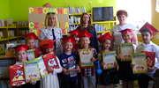 Pasowanie na czytelnika w Gminnej Bibliotece Publicznej w Kozłowie