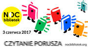 Noc Bibliotek 2017 w Zespole Szkół nr 1 w Ełku