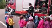 Przedszkolaki z Krasnala w Straży Pożarnej