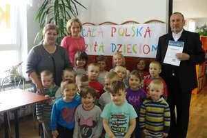 Cała Polska Czyta Dzieciom w  Baniach Mazurskich