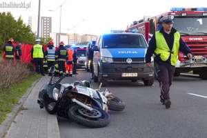 Śmiertelny wypadek motocyklisty. Ofiara to 19-latek bez prawa jazdy