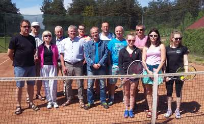 Tenis Club Szczytno rozpoczął sezon letni na kortach ziemnych