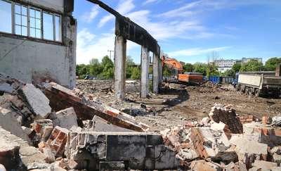 Stara parowozownia w Olsztynie znika na zawsze