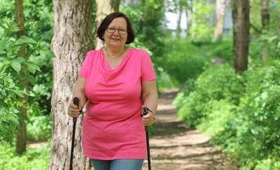 Aktywnie na emeryturze  Olsztyn - Aktywnie na emeryturze Nz. Krystyna Jurga