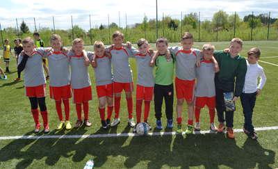 Młodzi piłkarze walczyli o Puchar Wójta