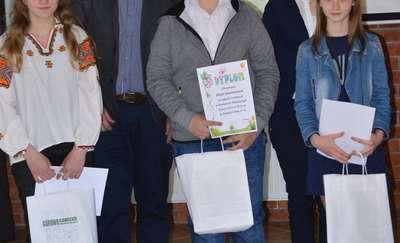 Gimnazjum nr 1 im. Jana Pawła II nagrodziło laureatów konkursu ekologicznego
