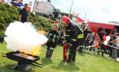 Dzień Strażaka i piknik rodzinny na pl. Solidarności w Olsztynie