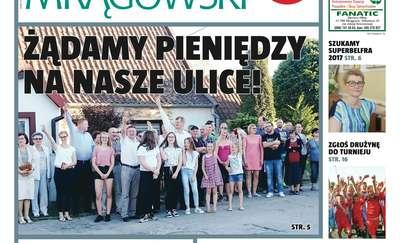 Dużo czytania w Kurierze Mrągowskim!