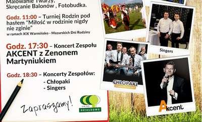 Zenek Martyniuk zaśpiewa z okazji 25 lecia Gminy Działdowo