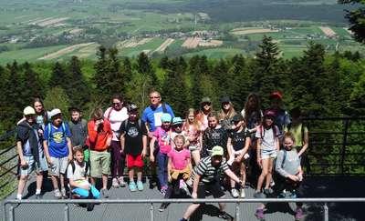 Uczniowie z Tuszewa na niezwykłej wycieczce w Świętokrzyskiem