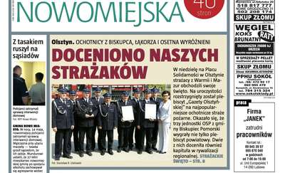 """Nowa """"Gazeta Nowomiejska"""" już jutro"""