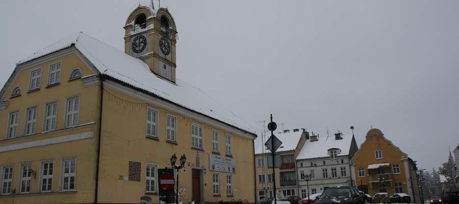 Majowa zima w Górowie Iławeckim