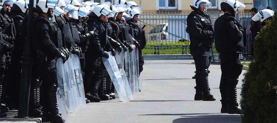 Podobnie jak podczas niedawnego meczu ŁKS w Nowym Mieście Lub. policja zadysponuje dodatkowych funkcjonariuszy
