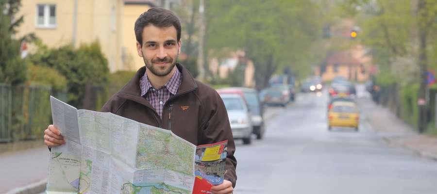 Mateusz Malik  Olsztyn - Mateusz Malik- ma pomysł, aby ulice hanki Sawickiej przemianować na ulicę Wrocławską