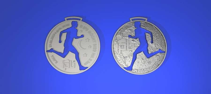 Tak będą wyglądały medale