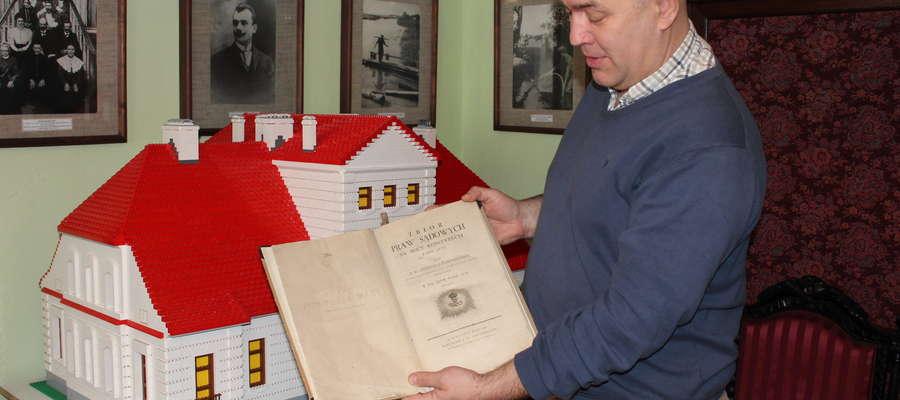 """Oryginał """"Zbioru Praw Sądowych"""" znajduje się w Muzeum Małego Miasta w Bieżuniu."""