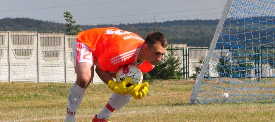 Dawida Zielińskiego (na zdjęciu) pokonał Karol Kamionowski fot. arch
