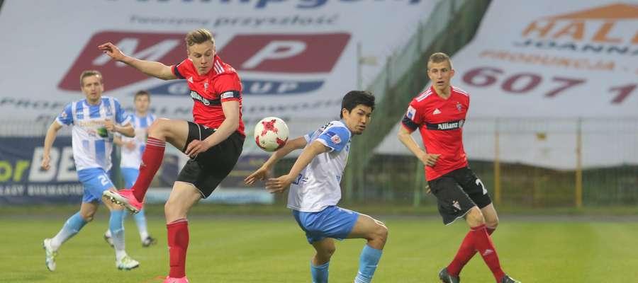 Stomil Olsztyn - Górnik Zabrze  Olsztyn - mecz 1. ligi między Stomil Olsztyn - Górnik Zabrze zakończony wynikiem 2:4.