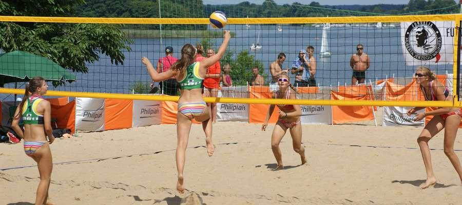 Na Dzikiej Plaży w Iławie rozgrywane już były m.in. finały mistrzostw Polski juniorek (2013 rok)