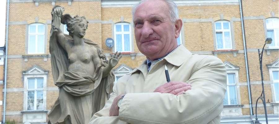 Stanisław Markowski ponad 40 lat był strażakiem zawodowym i brał udział w przenoszeniu posągów z Kamieńca do Iławy