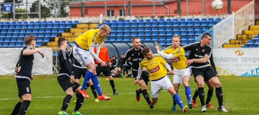 Piłkarze Concordii są jak na razie sprawcami jednej z największych niespodzianek w tej edycji wojewódzkiego Pucharu Polski - niedawno wyeliminowali II-ligową Olimpię Elbląg wygrywając 3:1