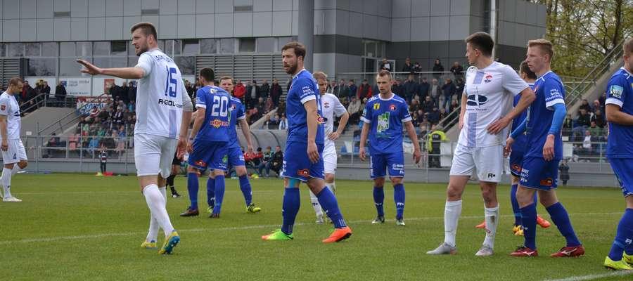 W pierwszym meczu jednego gola Finishparkietowi strzelił Robert Hirsz (nr 15)
