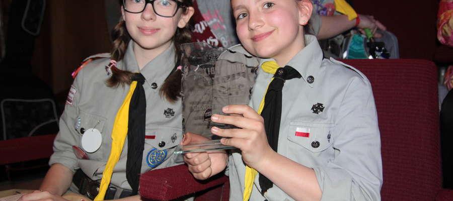 Grand Prix zdobyły Daria Wróblewska i Emilia Luty