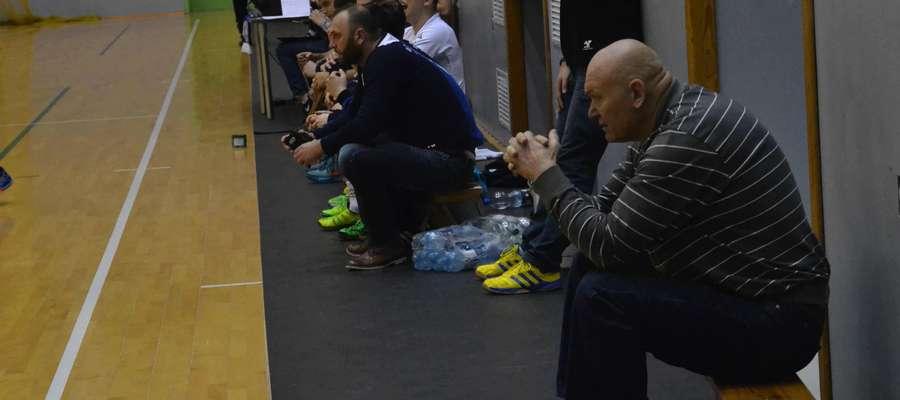 Giennadij Kamielin przez cały sezon obserwował mecze Orkana w Ostródzie, tak że wie ile czeka go pracy