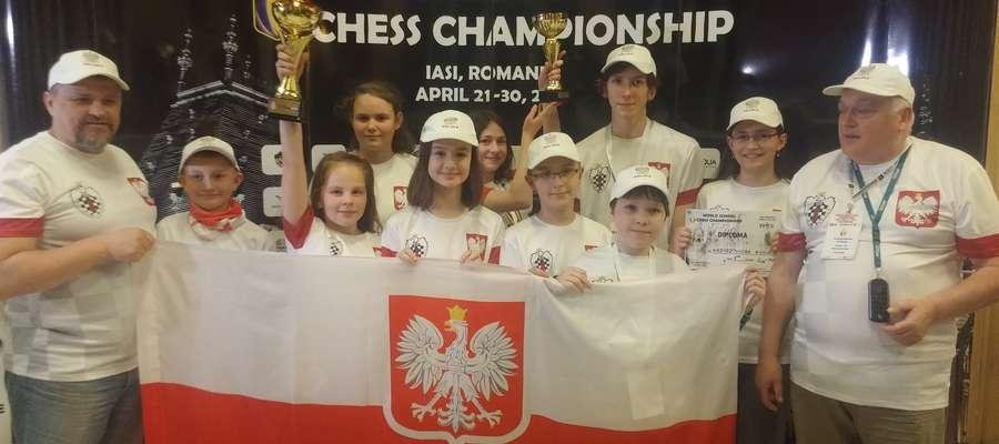 Maciej wśród reprezentacji Polski na mistrzostwa świata w szachach w Rumunii
