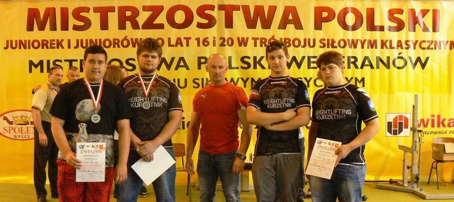 Zawodnicy Zamku z Arkadiuszem Kamińskim