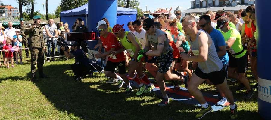 Start na 10 km i półmaratonu