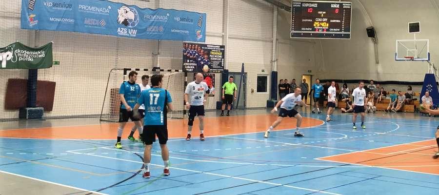 Piłkarze ręczni Orkana zremisowali w Warszawie w pierwszym meczu barażowym
