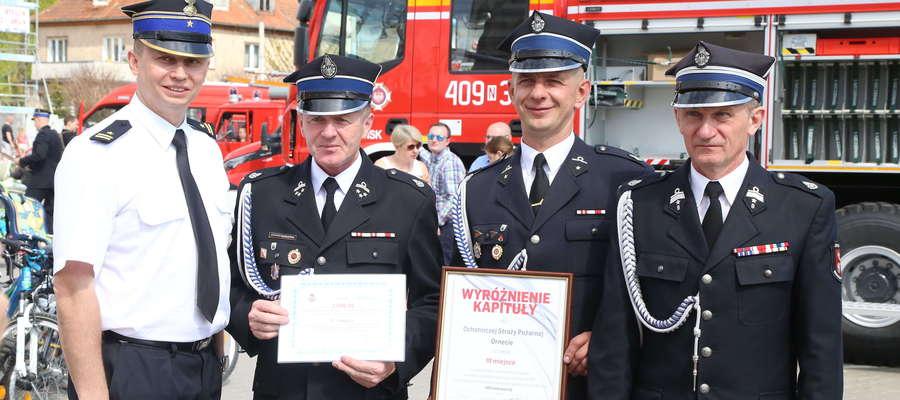 OSP Orneta — laureat nagrody kapituły konkursu