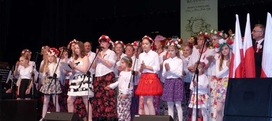 Na koniec uroczystych obchodów publiczność wysłuchała II. Patriotyczno-Wiosennego Koncertu Miejskiego