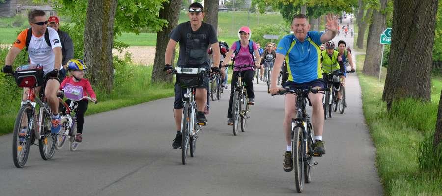 W ubiegłorocznej edycji Rajdu Rowerowego Dylewska Góra wzięło udział ponad 600 rowerzystów