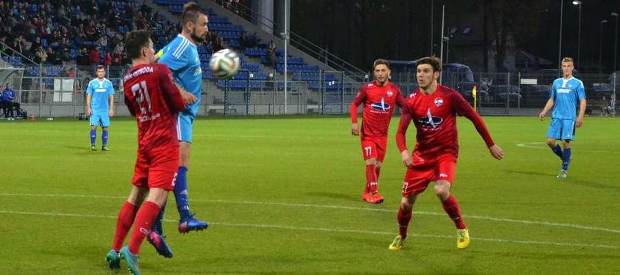 Wiosną Sokół Ostróda grał już z Finishparkietem Drwęca Nowe Miasto Lubawskie, wtedy był remis 0:0