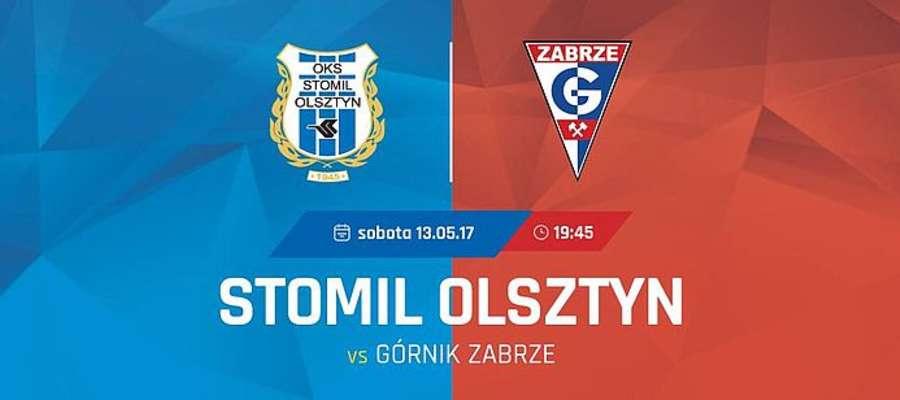 Mecz Stomil Olsztyn - Górnik Zabrze już w najbliższą sobotę, polecamy bilety za złotówkę