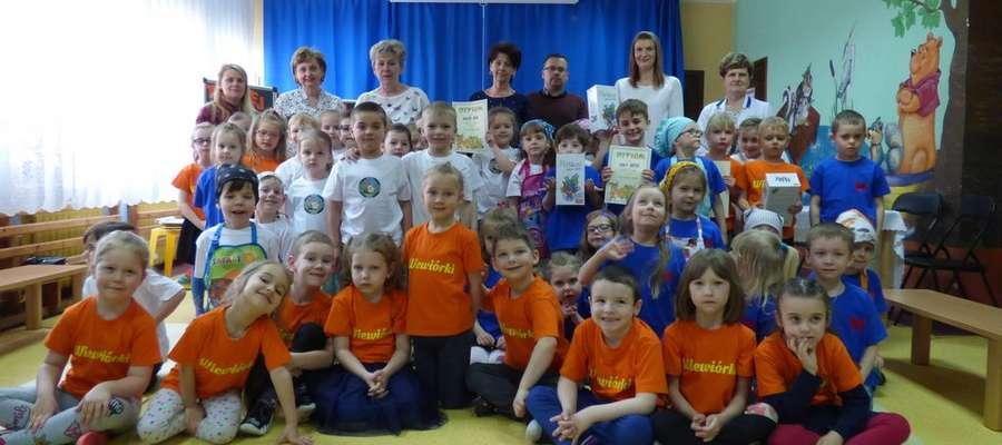Uczestnicy spotkania dotyczącego zdrowia w przedszkolu
