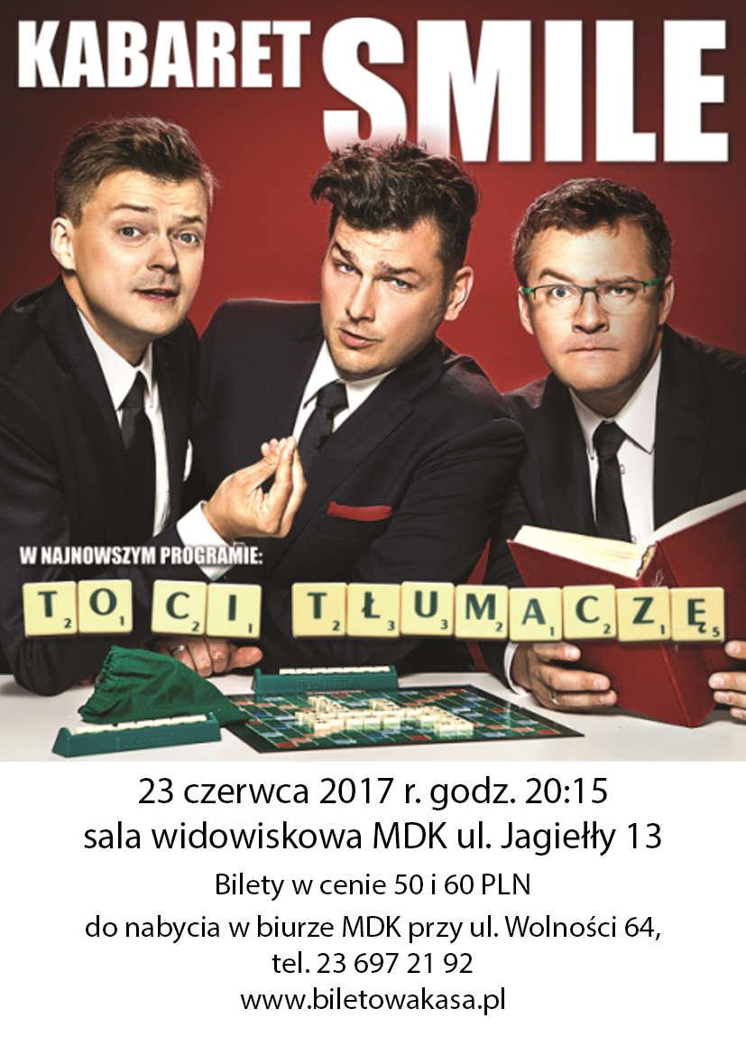 Kabaret SMILE w Działdowie - full image
