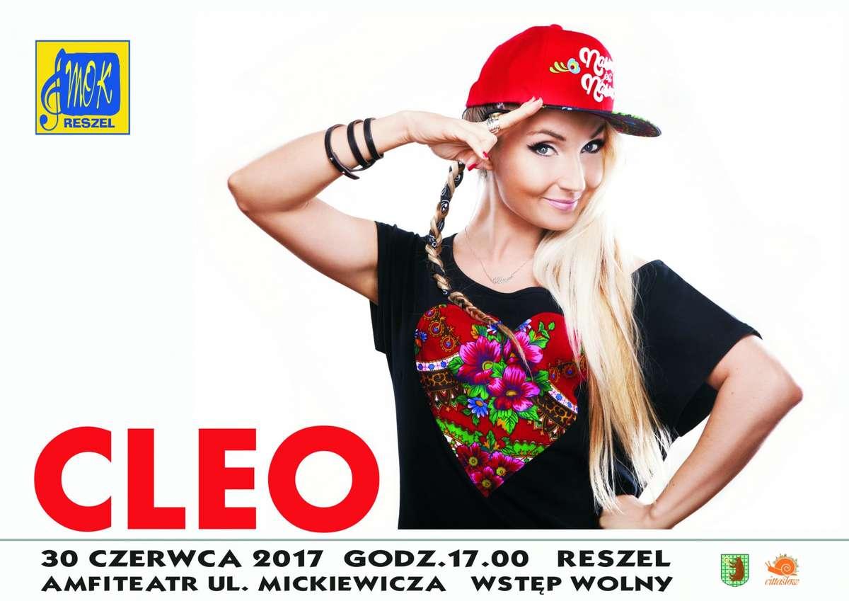 Muzyczny początek wakacji - Cleo w Reszlu! - full image