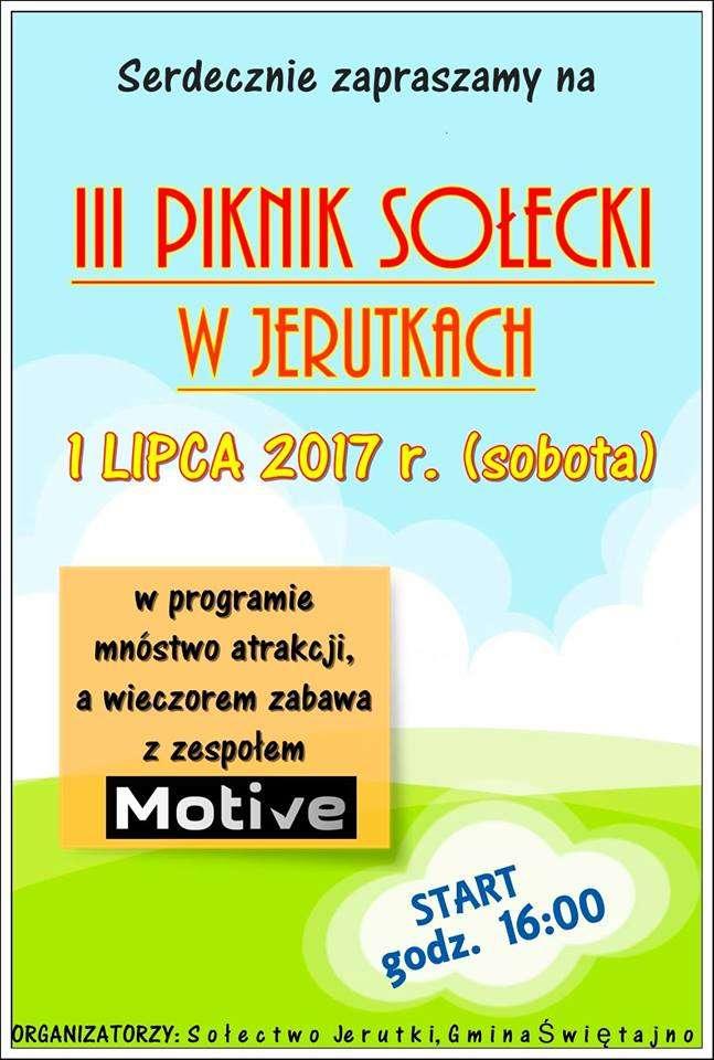 III Piknik Sołecki w Jerutkach - full image