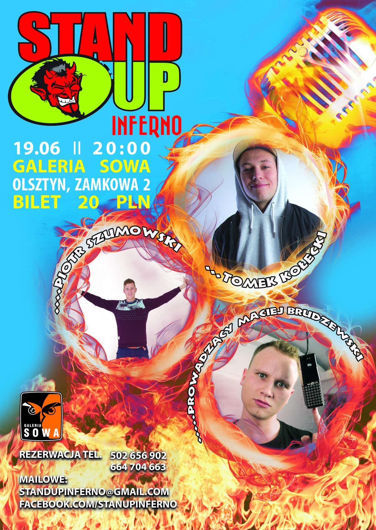 Stand-Up Inferno w Sowie: na scenie Piotr Szumowski i Tomek Kołecki! - full image