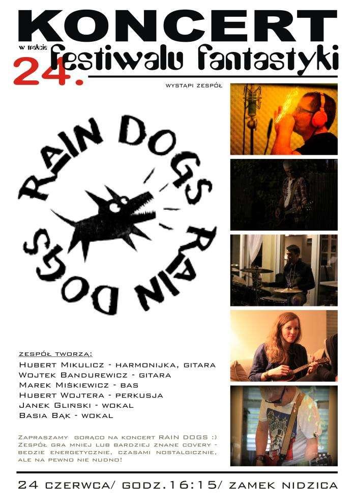 Zespół Rain Dogs zagra w czasie Festiwalu Fantastyki w Nidzicy - full image