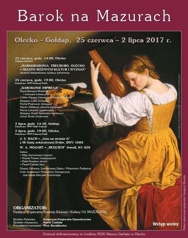 "Barok na Mazurach"" - full image"