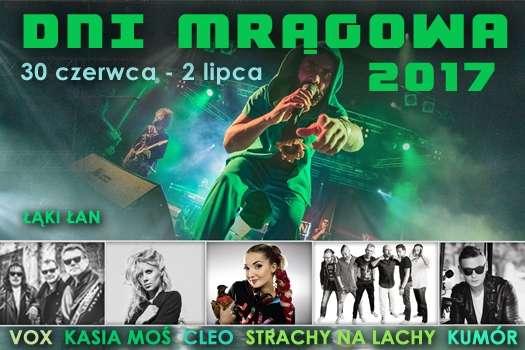 Dni Mrągowa plakat 2017 - full image