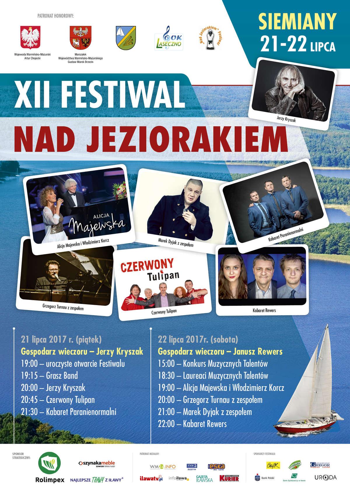 XII Festiwal nad Jeziorakiem w Siemianach - full image